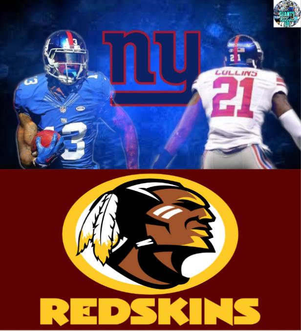 Giants Redskins